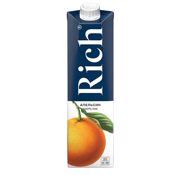 Rich Апельсиновый Сок 1л.